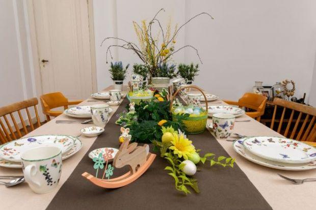 Prezentujemy trzy pomysły na aranżację stołu na Wielkanoc.