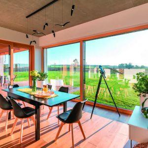 Okna Innoview to nowatorskie połączenie drewna i aluminium charakteryzujące się doskonałą jakością i wyjątkowymi właściwościami. Fot. Fakro