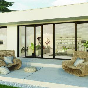 Okucia Roto Patio Inowa wyróżnia wysoka izolacyjność, która gwarantuje przytulne ciepło i ciszę. Fot. Roto