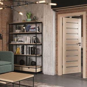 Drzwi Porta Koncept w kolorze drewna będą wykończeniem minimalistycznie urządzonego wnętrza, tworząc miłą przestrzeń do wypoczynku. Fot. Porta
