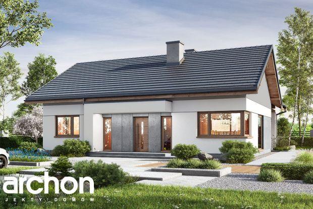 Projekt małego domu parterowego do 100 m kw.