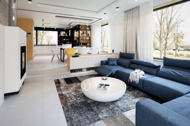 Nowoczesna i komfortowa strefa dzienna w polskim domu