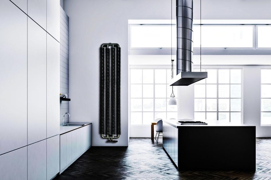 Współczesne grzejniki wykonywane są z przeróżnych materiałów – od tradycyjnej stali i aluminium, przez kamień, beton, szkło aż po materiały kompozytowe. Fot. Luxrad