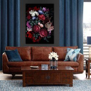 Obraz na płótnie Flowers II. Fot. Dekoria
