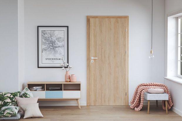 Wnętrza z drewnianymi akcentami