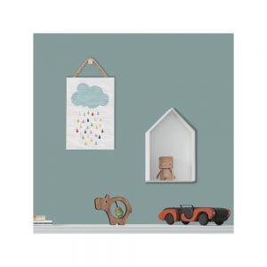 Dekoracja ścienna z motywem deszczowej chmurki Kicoti. Fot. Bonami