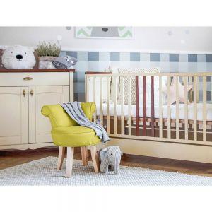 Żółte krzesełko dla dzieci Kicoti Sweety. Fot. Bonami