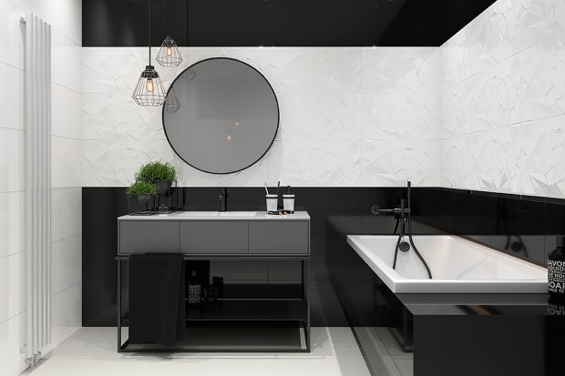 Postaw na efekt 3D w łazience