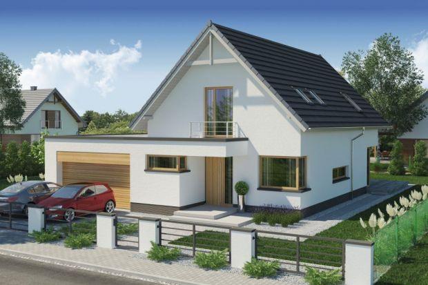 January 2 PS to parterowy dom zpoddaszem użytkowym przeznaczony na wąską działkę izaprojektowany dla 4-5-osobowej rodziny.