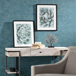 Obrazy Succulents I i II. Fot. Dekoria.pl