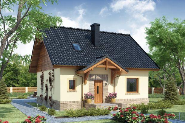 Projekt domu (93,78 m kw.) z poddaszem użytkowym