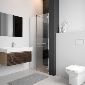 Idealnym stylem dla małego wnętrza jest styl minimalistyczny utrzymany w jasnych kolorach. Fot. Radaway