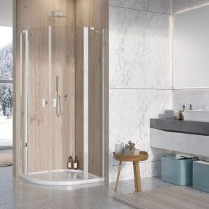 W małej łazience warto postawić na odpowiedni model kabiny prysznicowej. Fot. Radaway