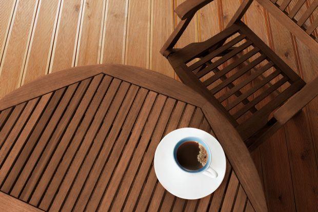 Drewno zabezpieczone przed czynnikami atmosferycznymi