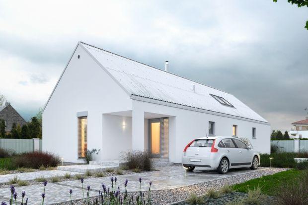 Mały, nowoczesny, energooszczędny dom. Zobacz projekt