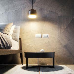 Zarówno na podłodze, jak i na fragmentach ścian wykorzystano dębowy parkiet, tworzący nieskończoną liczbę modułowych kompozycji. Fot. Zaha Hadid Architects