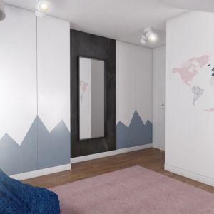Córka właścicieli dostała teraz większy pokój. On również został urządzony z dbałością o estetyczny wygląd i funkcjonalność. Fot. Pracownia Architektoniczna MGN