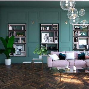Martyna Pietras. Projekt: Apartament w kamienicy. Fot. Jawor Parkiet