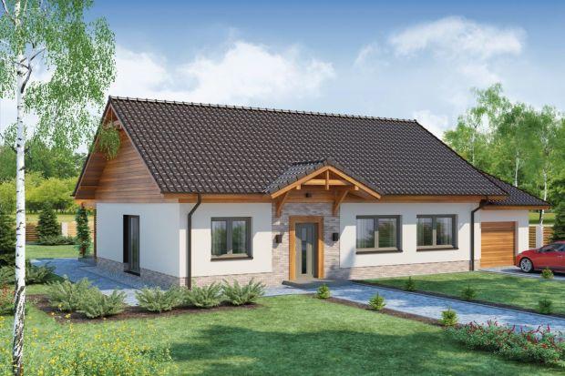 Projekt małego domu parterowego z poddaszem do adaptacji
