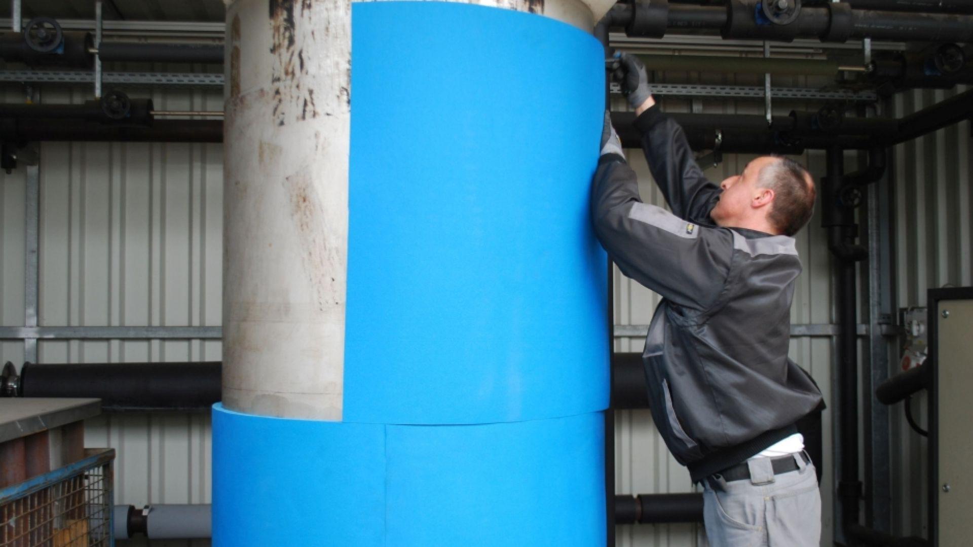 Projektując instalację cieplną lub chłodniczą bardzo często skupiamy się wyłącznie na wyborze wysokiej jakości produktu o odpowiedniej grubości, zapominając, że bardzo istotny jest również prawidłowy montaż izolacji. Fot. Armacell