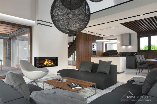 Wnętrze domu HomeKONCEPT 53 zostało zaprojektowane bardzo funkcjonalnie z myślą o komforcie 4-osobowej rodziny. Wrażenie przestronności potęguje antresola, powiększająca przestrzeń salonu.