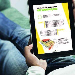 E-book Isover to rzetelne kompendium wiedzy dostępne dla wszystkich. Fot. Isover