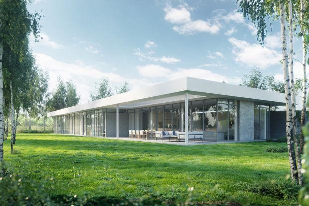 Dom pod linią - intrygująca architektura