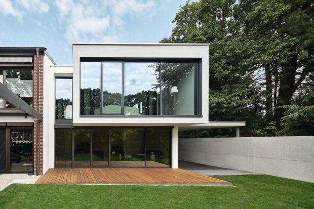Modernistyczny jednoosobowy dom