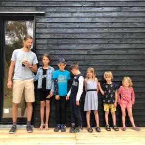 Biodomek Junior ze skośnym dachem. Fot. eKodama