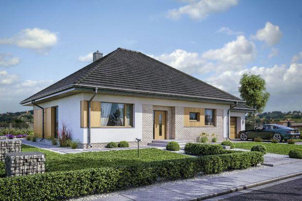 Projekt małego domu ze strychem do adaptacji
