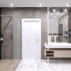 W łazience dobrze komponują się różne barwy. Tworzą spójną, nowoczesną całość. Fot. HomeKONCEPT