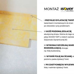 Montaż Isover Twist. Fot. Isover