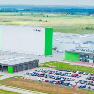 Fabryka katalizatorów spalin samochodowych międzynarodowego koncernu BASF. Fot. W.P.I.P