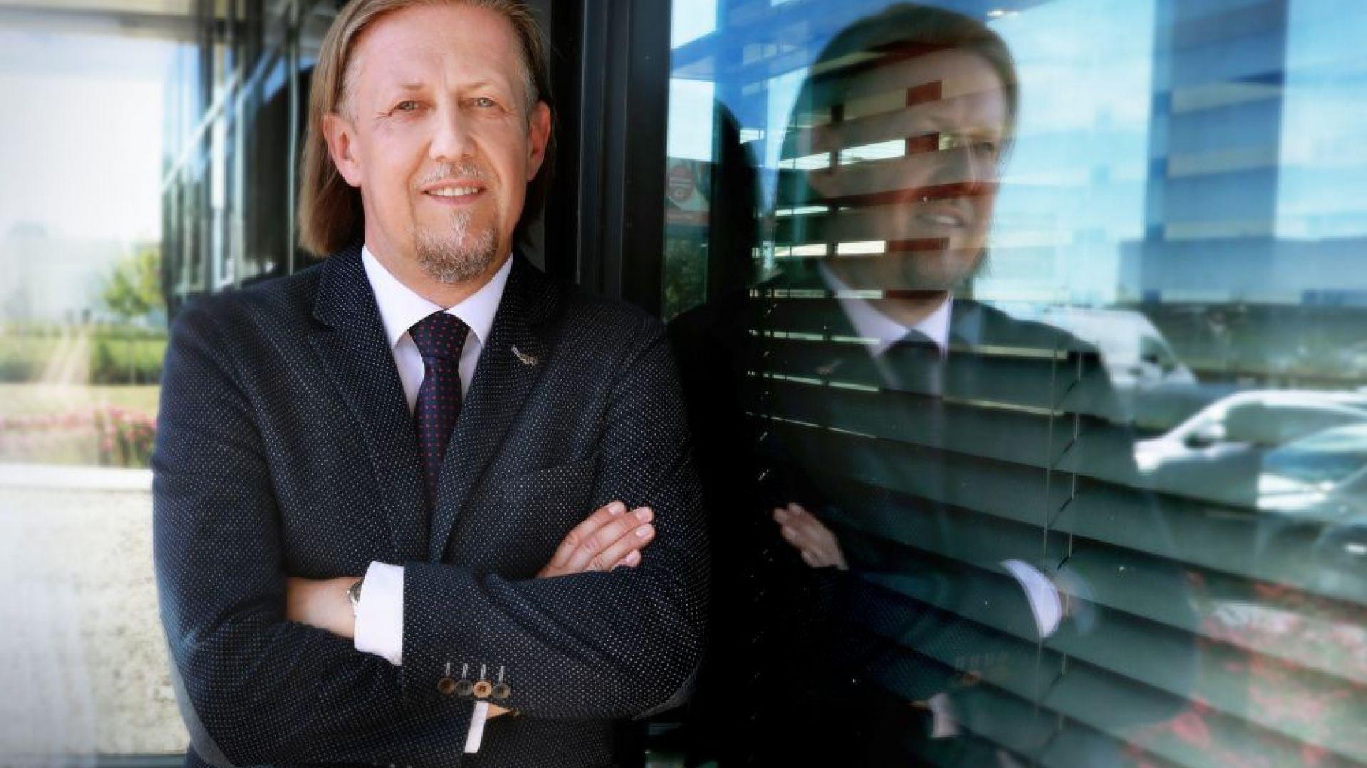 Dariusz Stasik, właściciel i Prezes Zarządu W.P.I.P., generalnego wykonawcy inwestycji budowlanych. Fot. W.P.I.P