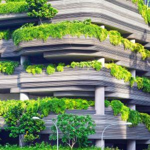 Najważniejsze trendy w budownictwie XXI wieku: odnawialne źródła energii (GoGreen), zrównoważone budownictwo (NoWaste), nowe technologie (InTech) oraz inteligentne rozwiązania w budynkach (BeSmart). Fot. Unsplash