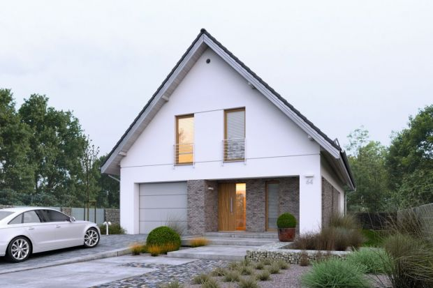 Nowoczesny dom (139,60 mkw.) z poddaszem użytkowym. Zobacz projekt