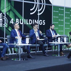 """4Buildings: sesja """"Barometr zdrowych domów"""". Fot. PTWP"""