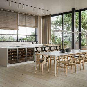 W swoich realizacjach architekci ze Studia O. uzewnętrzniają zamiłowanie do natury, czystości, równowagi, porządku i proponują nam przestrzenie, w których drewno gra jedną z głównych ról. Fot. Studio O.