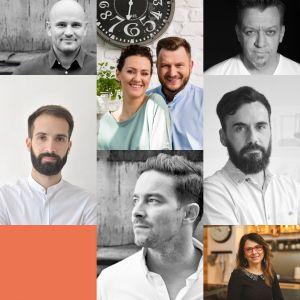 Prelegenci dyskusji inauguracyjnej Forum Dobrego Designu 2019