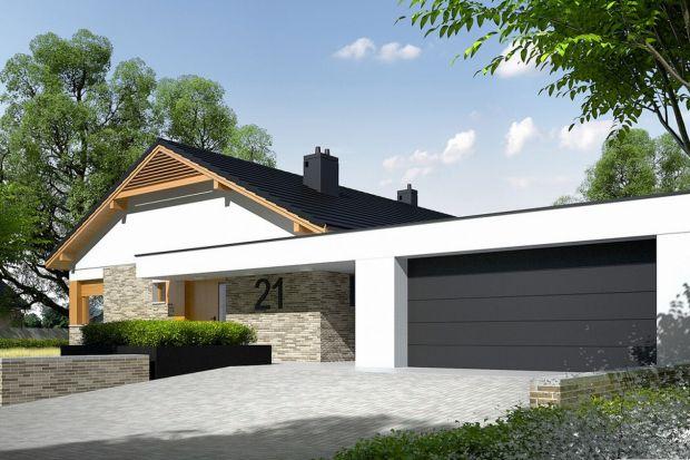 Projekt domu parterowego o powierzchni 120 mkw.