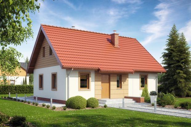 Projekt domu (64 mkw.) parterowego na małą działkę