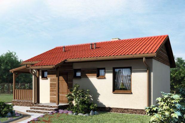 Dom parterowy o powierzchni mieszkania w bloku. Zobacz projekt