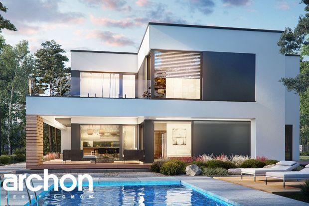 """""""Willa Luna (G2)"""" jest jedną z nowości projektowych w ofercie Pracowni ARCHON+. To niezwykłe połączenie komfortu oraz nowoczesnego designu, dom zwraca uwagę i zachwyca od pierwszego spojrzenia. Powierzchnia domu wynosi 185,96 mkw. + dwusta"""