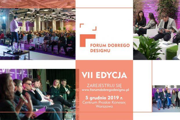 Już dziś! Forum Dobrego Designu 2019 w Warszawie