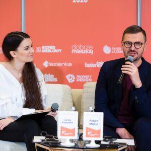 Maciej Zień. Forum Dobrego Designu 2019. Fot. PTWP