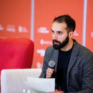 Yoann Jacquon. Forum Dobrego Designu 2019. Fot. PTWP