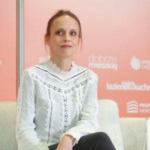Joanna Leciejewska. Forum Dobrego Designu 2019. Fot. Paweł Pawłowski