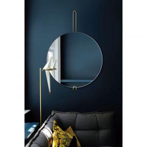 Kolekcja Hoko – minimalistyczne lustra z mosiężnym uchwytem/GieraDesign
