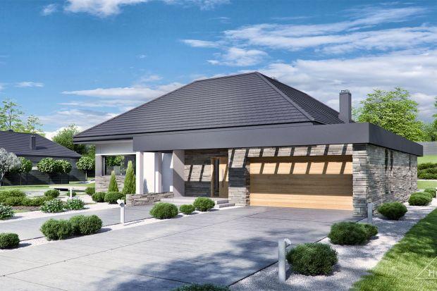 Zobacz projekt nowoczesnego domu parterowego o powierzchni 138 mkw.