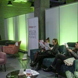Stoisko firmy Livingroom. Fot. Marek Misiurewicz